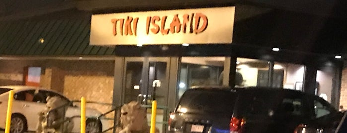 Tiki Island is one of Bars and Restaurants in Boston.
