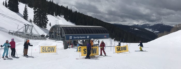 Sun Up - Lift 17 is one of Dining Vail.