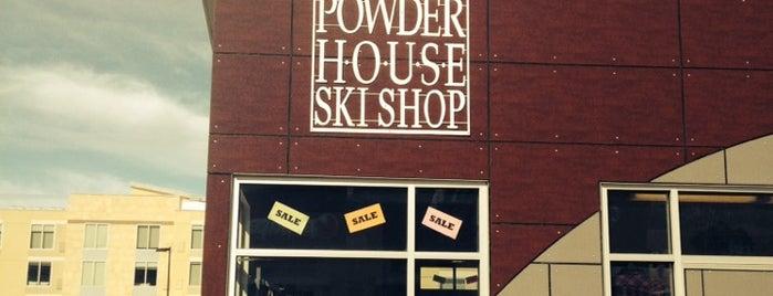 Powder House Ski Shop is one of Lugares favoritos de Joe.