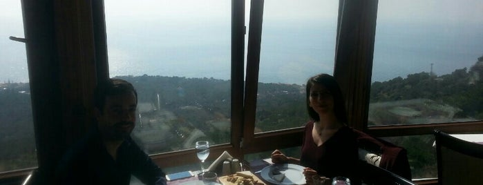 the rock restaurant is one of Bayram.