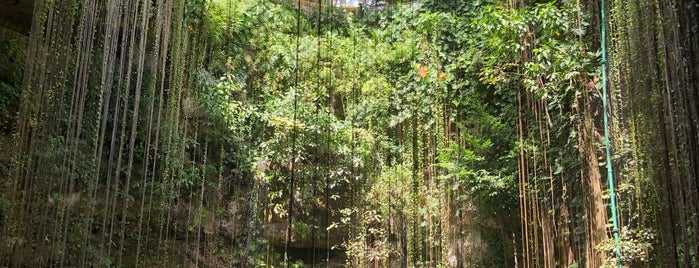 Ik Kil Cenote is one of Mexico.