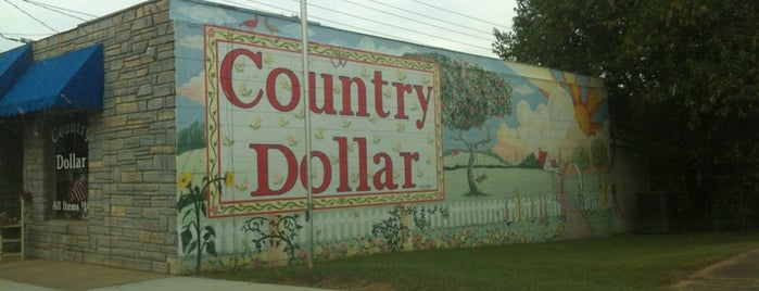 Country Dollar is one of Posti che sono piaciuti a Camille.