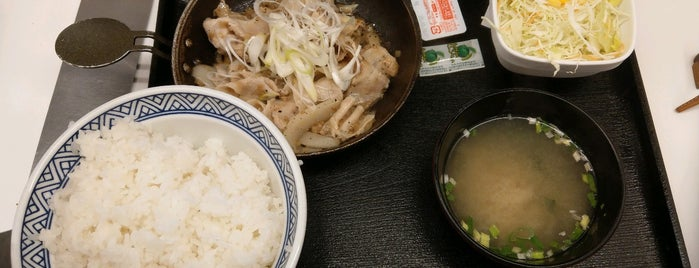 Yoshinoya is one of 食事処.