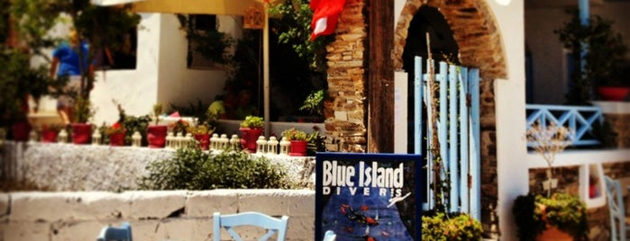 Blue Island Divers is one of Lieux qui ont plu à Panagiotis.
