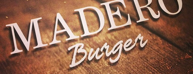 Madero Burger is one of Locais curtidos por Leandro.