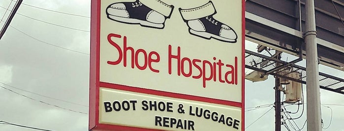 Austin Shoe Hospital is one of Liz'in Beğendiği Mekanlar.