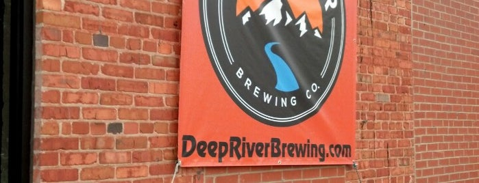 Deep River Brewing Co is one of NC Craft Breweries.