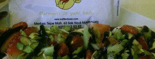 Waffle'cı Kaan is one of Lugares favoritos de Mehmet Ali.