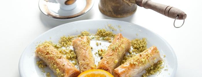 Khoury's Mediterranean Restaurant is one of Posti salvati di Blondie.