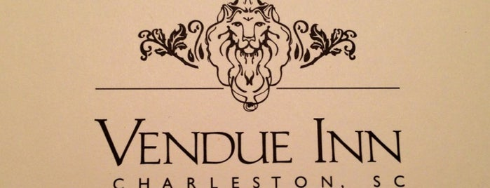 The Vendue is one of Charleston 2016.