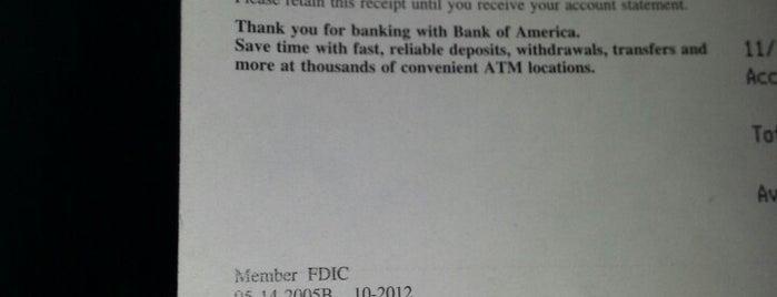 Bank of America is one of Lina : понравившиеся места.