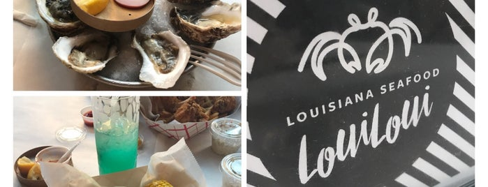 Loui Loui Louisiana Seafood is one of Locais salvos de Nia.