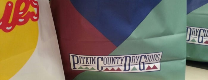 Pitkin County Dry Goods is one of Colorado Roadtrip.