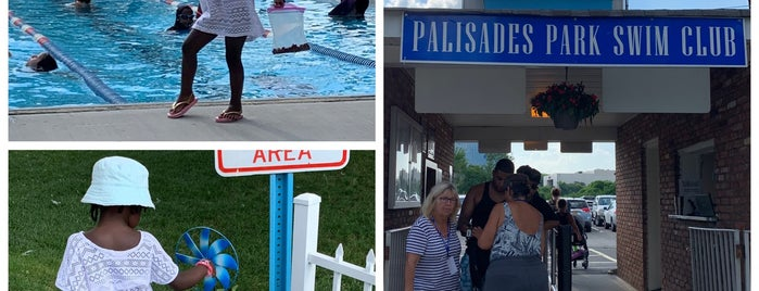 Palisades Park Swim Club is one of Lugares favoritos de Nadine.