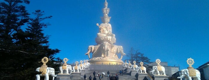 Jinding of Emei Mountain is one of China.