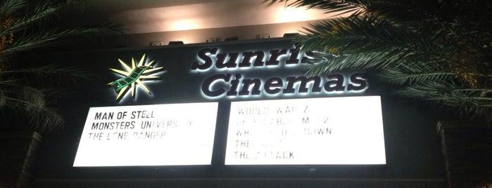 Sunrise Cinema is one of Miami.