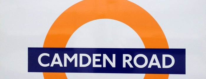 Camden Road London Overground Station is one of Lugares favoritos de Person.