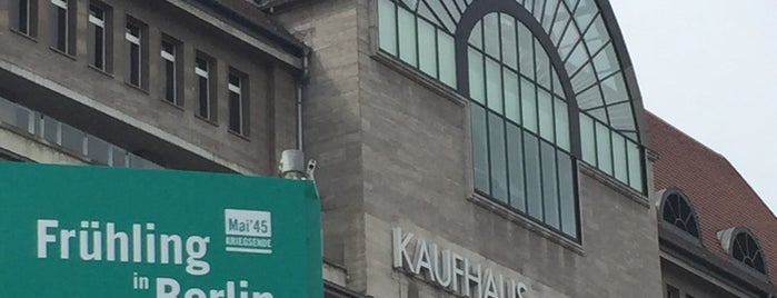 Kaufhaus des Westens (KaDeWe) is one of Food & Fun - Berlin.