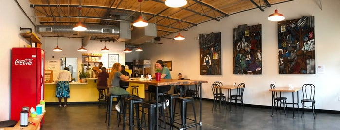 Enderly Coffee is one of Good Places to Work From in Charlotte.