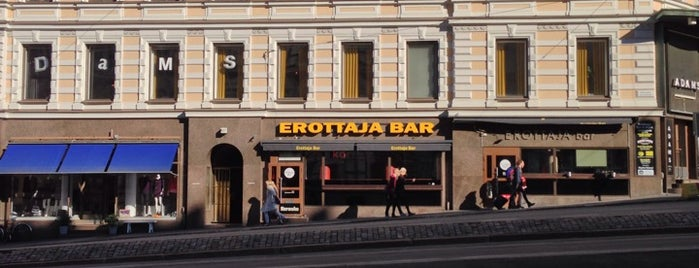 Erottaja Bar is one of Meri 님이 좋아한 장소.