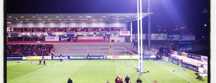 Kingspan Stadium is one of Belfast.