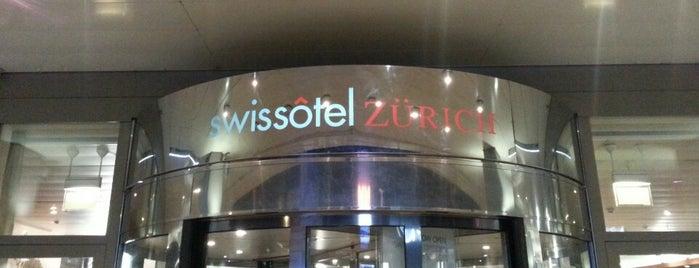 Swissôtel Zurich is one of Orte, die Martin gefallen.