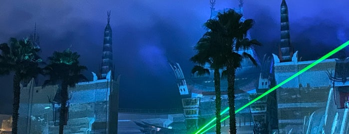 Star Wars: A Galactic Spectacular is one of Disney World.