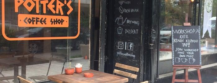 Potter's Coffee Shop is one of #kahvemtermosta mekanları.