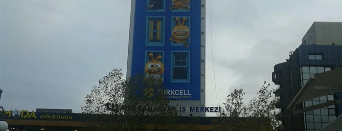 Kizilay AVM Turkcell is one of Tempat yang Disukai Ulaş.