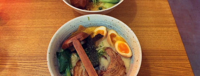 Morimori Ramen is one of Cody 님이 저장한 장소.