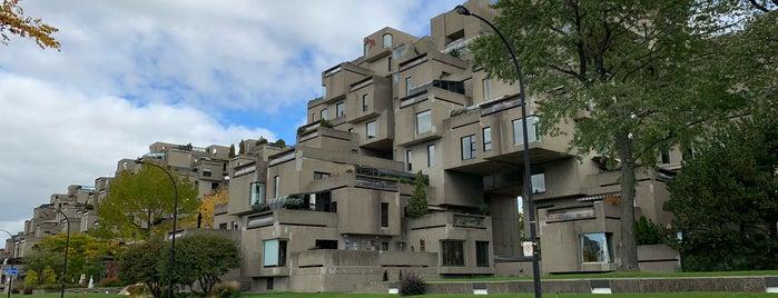 Habitat 67 is one of Montreal.