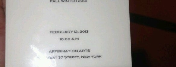 Victoria Beckham Show @ Mercedes-Benz Fashion Week @ Bryant Park is one of Fashion Week 2013.