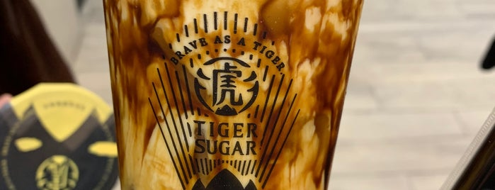 Tiger Sugar is one of Places to go.