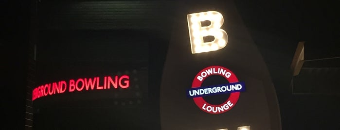 Underground Bowling Lounge is one of Lieux sauvegardés par Catherine.