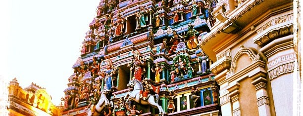 Sri Mahamariamman Temple is one of Şeymaさんのお気に入りスポット.