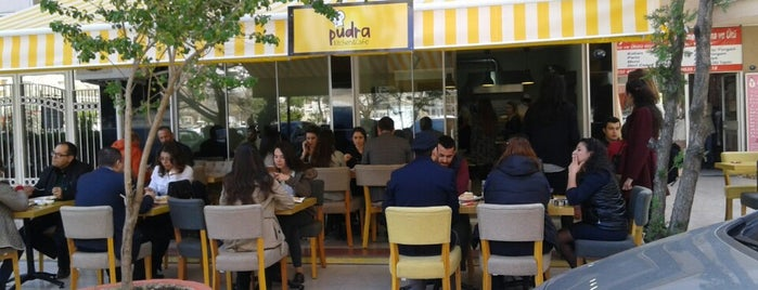 Pudra Kitchen & Cafe is one of .☝Oktay: сохраненные места.