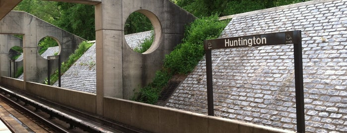 Huntington Metro Station is one of DC Metro Insider Tips.