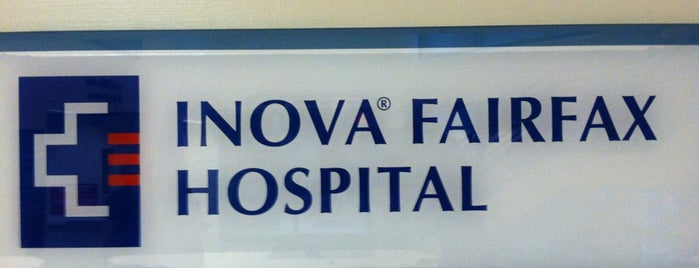 Inova Fairfax Medical Campus is one of Hospitals and Dr., s offices By The Way..