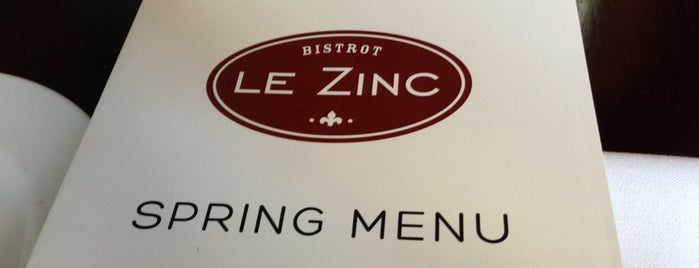 Le Zinc is one of DC To Do - Eat.