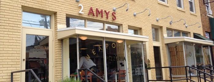 2 Amys is one of Washington DC.