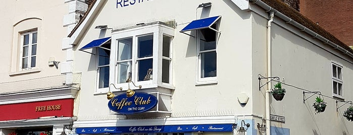 Coffee Club On The Quay is one of UK Restaurants.