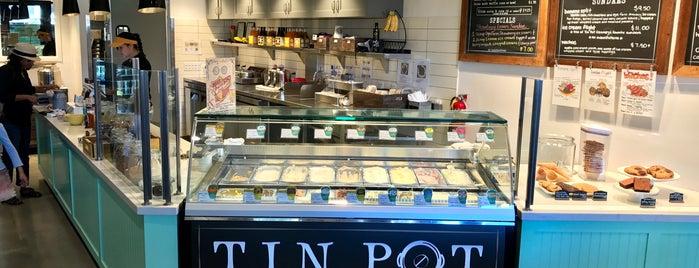 Tin Pot Creamery is one of Lugares favoritos de Drew.