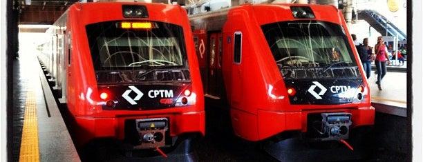Estação Brás (CPTM) is one of Lieux qui ont plu à Guilherme.