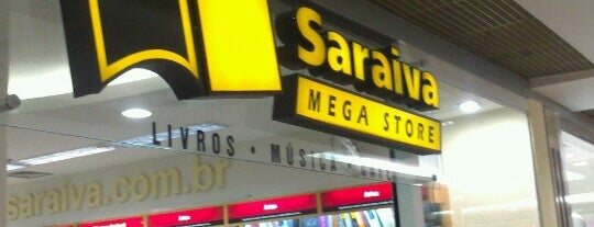 Saraiva MegaStore is one of Placês to kill backered.