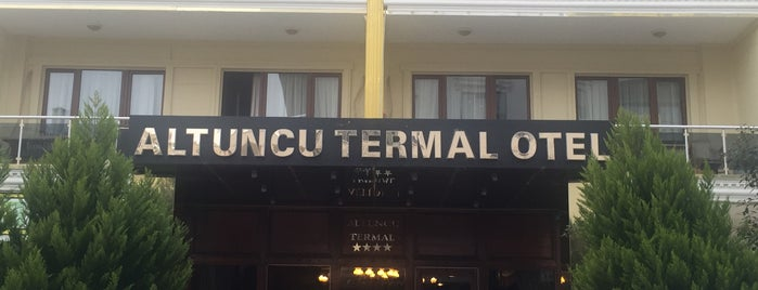 Altuncu Termal Otel is one of Tempat yang Disukai Ilir Ramazan.
