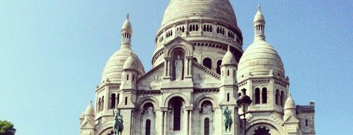 사크레쾨르 대성당 is one of Paris.