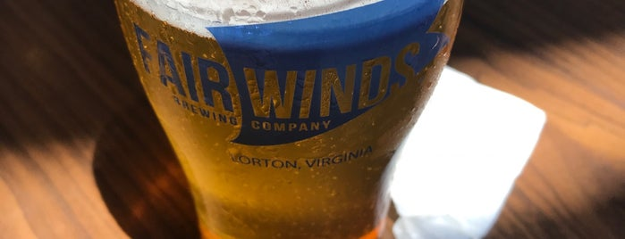 Fair Winds Brewing Company is one of Washington.
