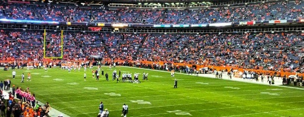 Empower Field at Mile High is one of Sporting Venues.