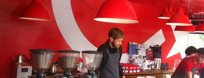 Ritual Coffee Roasters is one of For the Love of Caffeine.