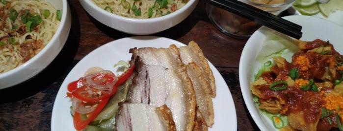Wanton Seng's Noodle Bar is one of Tempat yang Disukai Ian.